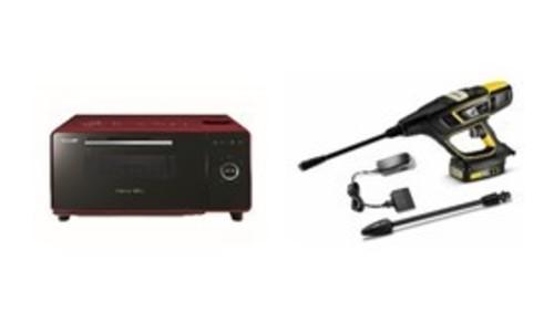 <シャープ>ウォーターオーブン専用機 <ケルヒャー>モバイル高圧洗浄機