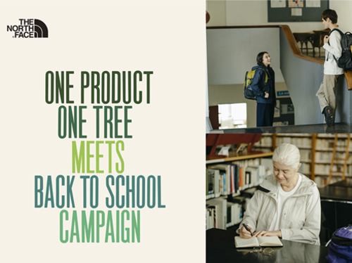 ONE PRODUCT ONE TREE MEETS BACK TO SCHOOL CAMPAIGN