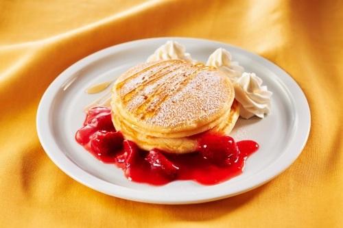 ストロベリーパンケーキの画像