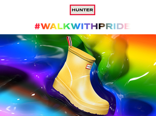 HUNTER WALK WITH PRIDE