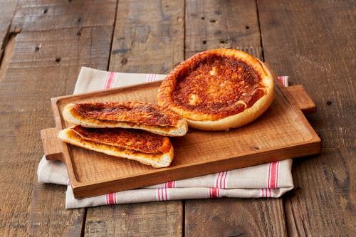 焼きチーズ&タコスミートの画像