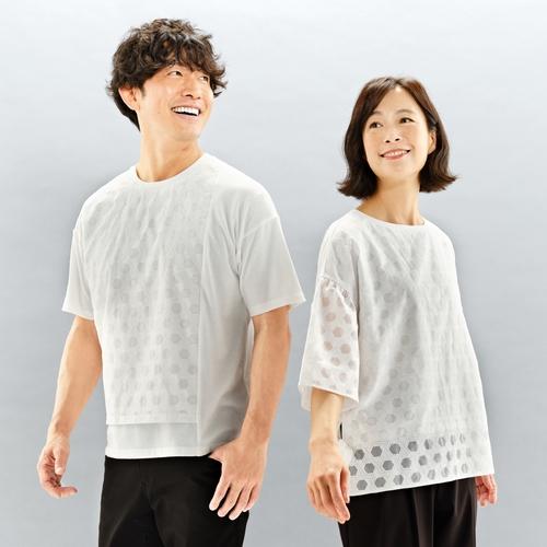 籠目文様Tシャツ