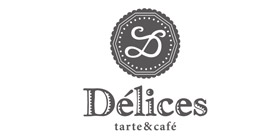 Delices  tarte & cafeのロゴ画像